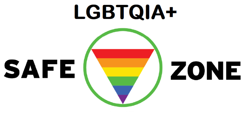 LGBTQIA Safe Zone logo