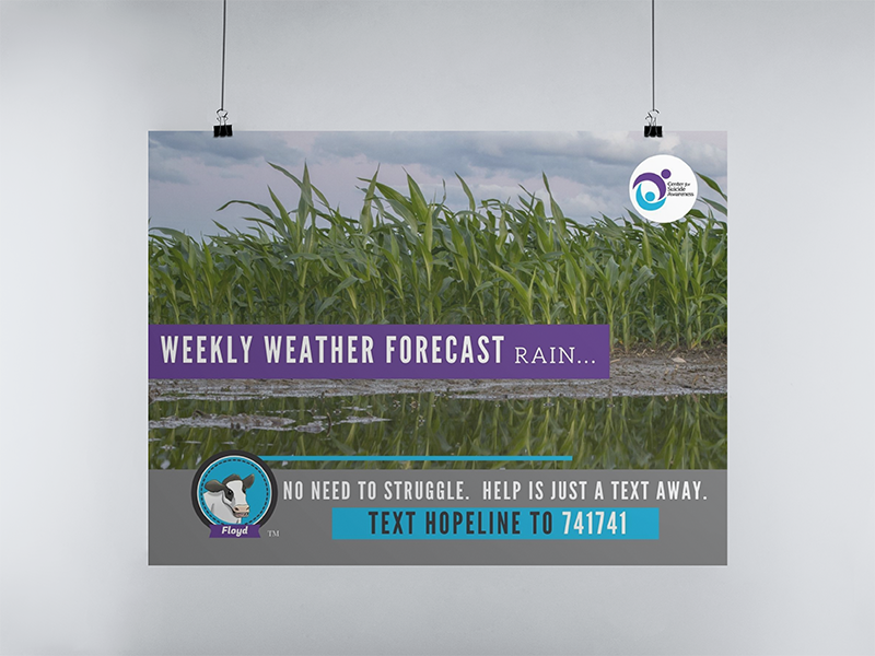 Poster 4 weekly weather forecast